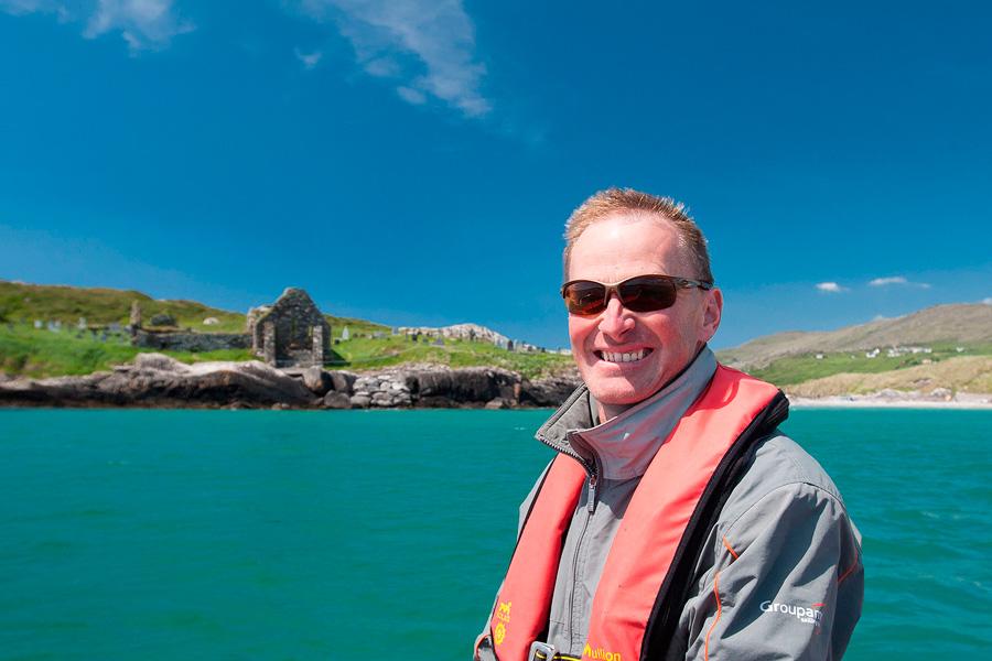 Des O'Shea, Skellig Coast Discovery