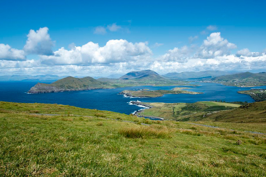 The Skellig Coast from Valentia Island
